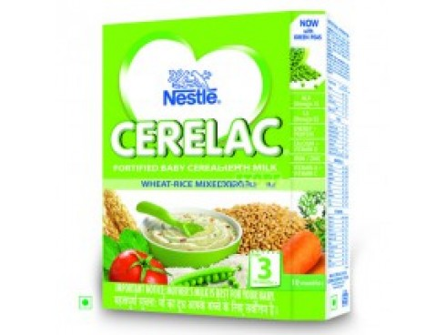 Nestle Cerelac - Wheat Mixed Vegetable (Stage 3), 300 gm Carton