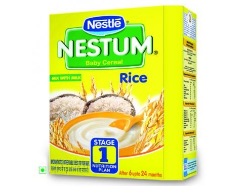 Nestle Nestum - Rice (Stage 1), 300 gm Carton