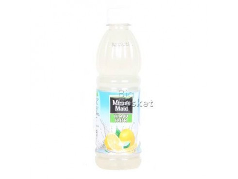Minute Maid Nimbu Fresh - Lemon Juice Concentrate, 400 ml Bottle
