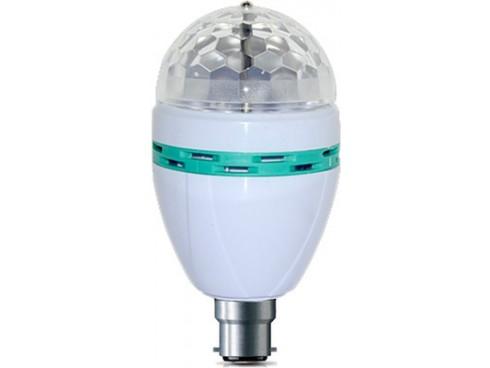 DP 3 W LED Rotating Bulb
