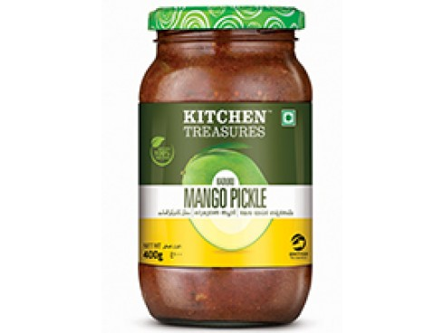 KITCHEN TREASURES KADUKKU MANGO PICKLE 200GM
