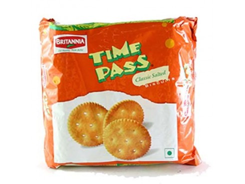 BRITANNIA TIME PASS SALTED BISCUIT 150GM