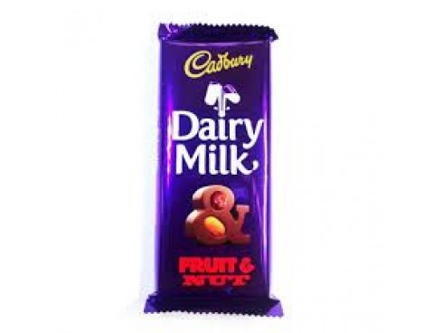 CADBURY DAIRY MILK FRUIT & NUT 40GM