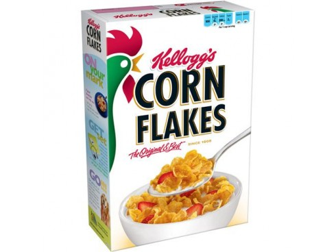 KELLOGG'S CORN FLAKES 475GM BOX