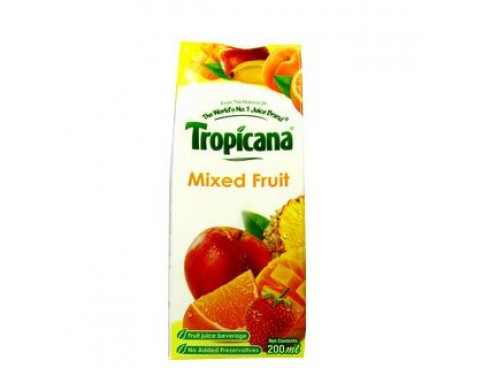TROPICANA MIXED FRUIT 200ML