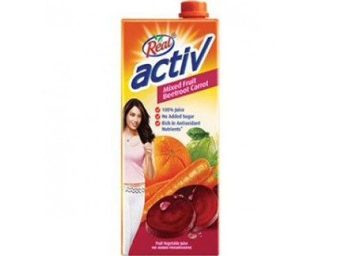 REAL ACTIVBEETROOT CARROT 1L