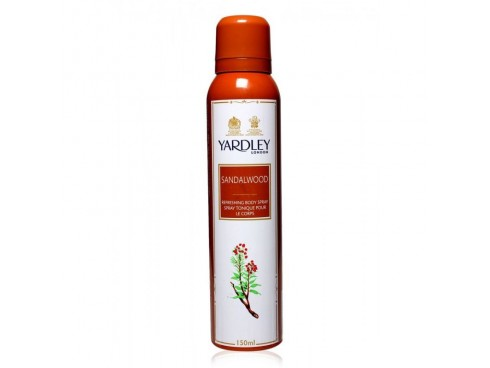 YARDLEY SANDAL WOOD DEO BODY SPRAY 150ML