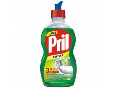 PRIL DISHWASHING LIQUID LIME 425ML