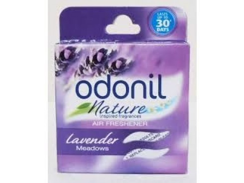 ODONIL AIR FRESHNER BLOCKS 50GM LAVENDER MEADOWS