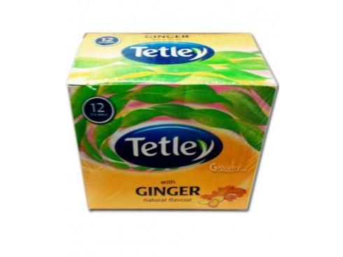 TETLEY LEAF 12S HARD TEA BAGS GINGER