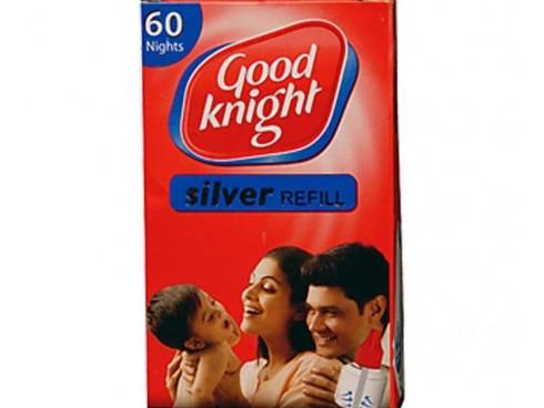GOOD KNIGHT 60 NIGHT SILVER REFILL CARTRIDGE