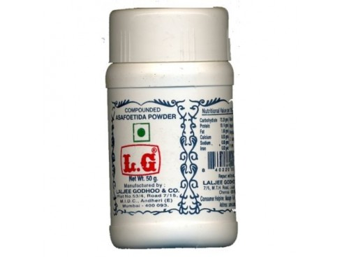 LG COMPOUNDED ASAFOETIDA  (PERUNGAYAM) CAKE 50 GM