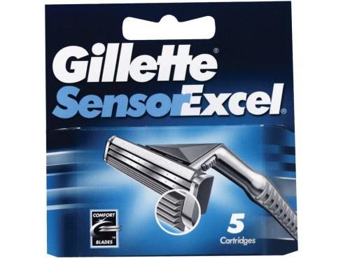 GILLETTE SENSOR EXCEL IDEAL FOR MENS RAZOR BLADE CARTRIDGES 5S