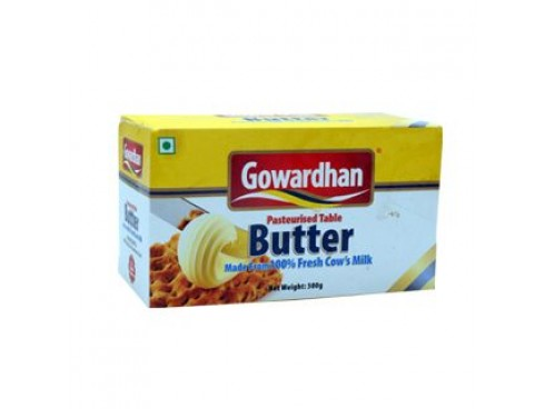 GOWARDHAN BUTTER 500GM