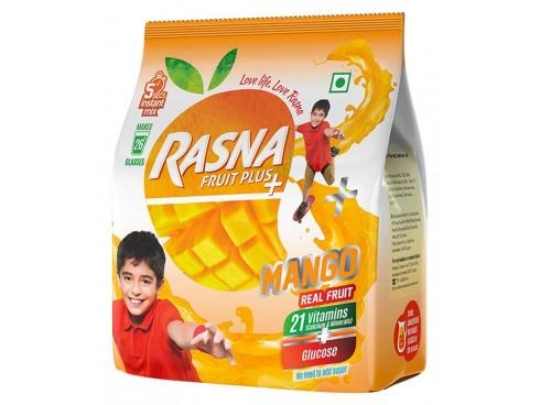 RASNA FRUIT PLUS 500GM POUCH MANGO