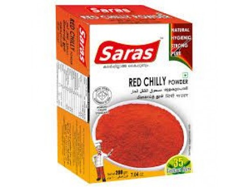 SARAS CHILLI (MULAKU) POWDER 250 GM