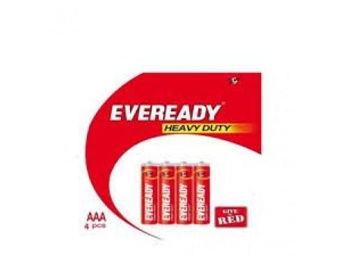 EVEREADY BATTARIES AAA 1012 PACK OF 4