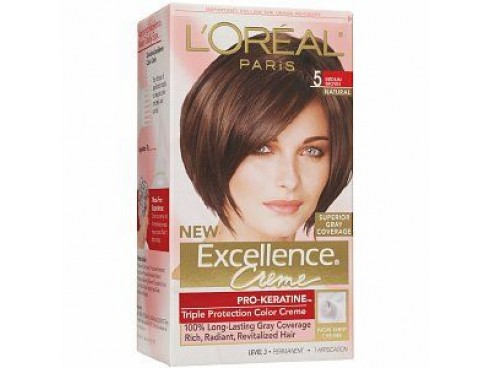 L'OREAL EXCELLENCE HAIR COLOUR 5 BROWN