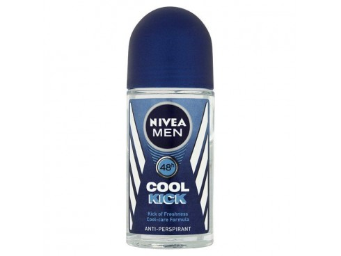 NIVEA IDEAL FOR MEN COOL KICK ROLL ON DEO 50ML