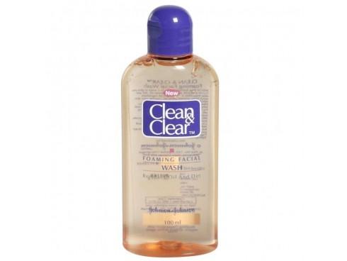 JOHNSON'S CLEAN & CLEAR FACIAL WASH 100ML
