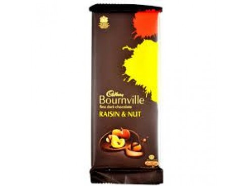 CADBURY BOURNVILLE RAISIN & NUT 80GM