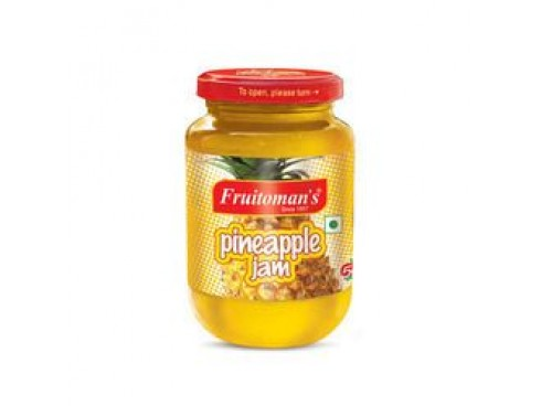 FRUITOMANS PINEAPPLE JAM 500GM