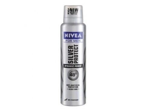 NIVEA FOR MEN SILVER PROTECT DYNAMIC POWDER DEO 150ML