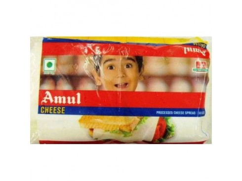 AMUL CHEESE SLICES 400GM
