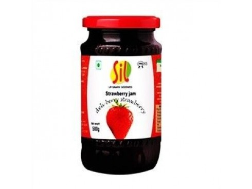 SIL STRAWBERRY JAM 500 GM