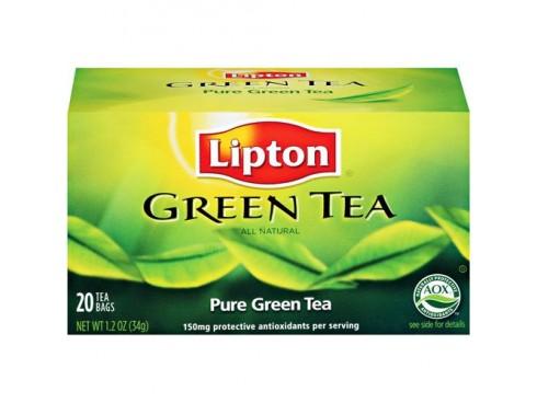 LIPTON CLEAR GREEN TEA PURE 20 BAG'S 26GM