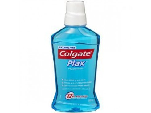 COLGATE PLAX PEPPERMINT MOUTH WASH 250ML