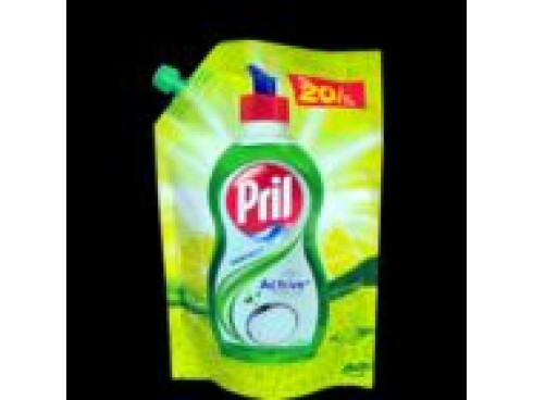 PRIL DISHWASHING LIQUID PERFECT LIME 140ML