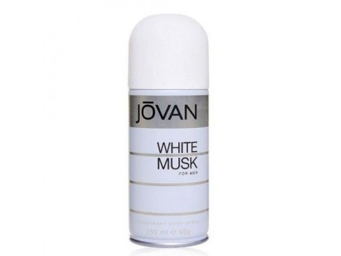 JOVAN WHITE MUSK MENS DEO BODY SPRAY 150ML