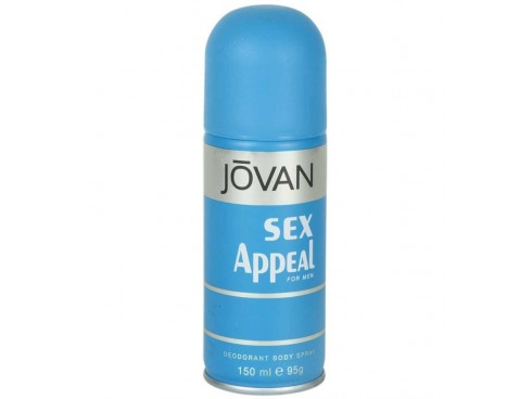 JOVAN SEX APPEAL MENS DEO BODY SPRAY 150ML