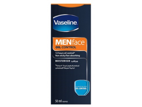 VASELINE MENS OIL CONTROL FACE WASH 50ML