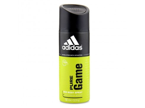 ADIDAS IDEAL FOR MEN'S PURE GAME DEO BODY SPRAY150ML