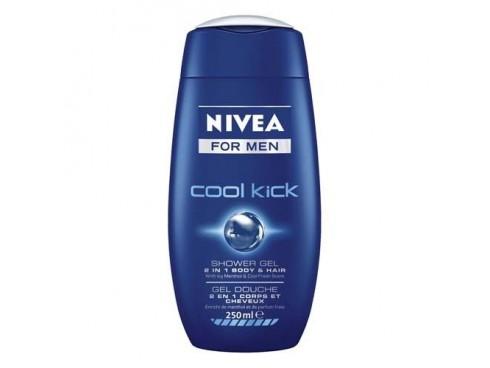 NIVEA FOR MEN SHOWER GEL COOL KICK 250ML