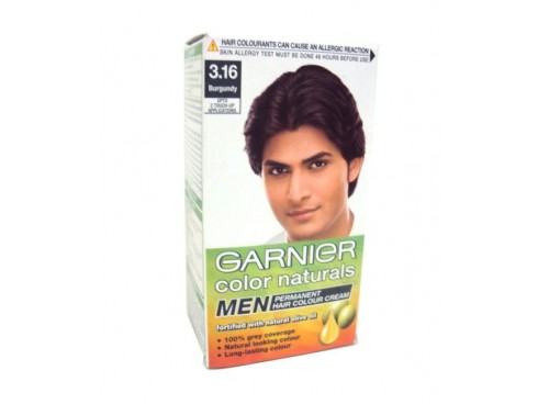 GARNIER COLOR NATURALS HAIR COLOR FOR MEN SHADE NATURAL BLACK 60ML