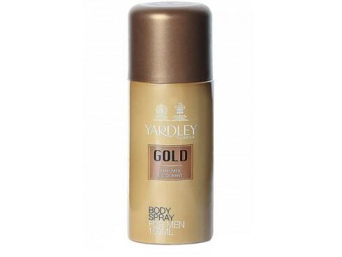YARDLEY GOLD DEO BODY SPRAY 150ML