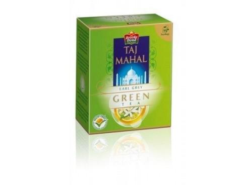 TAJ MAHAL EARL GREY GREEN TEA 25S