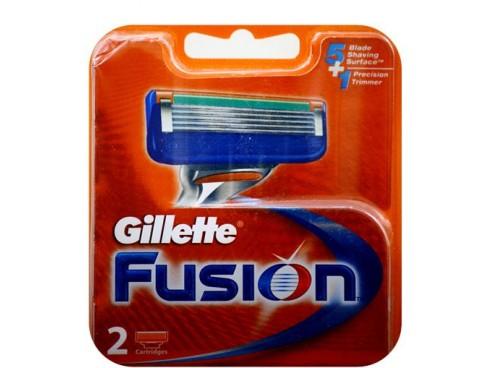 GILLETTE FUSION RAZOR BLADE CARTRIDGES 2S