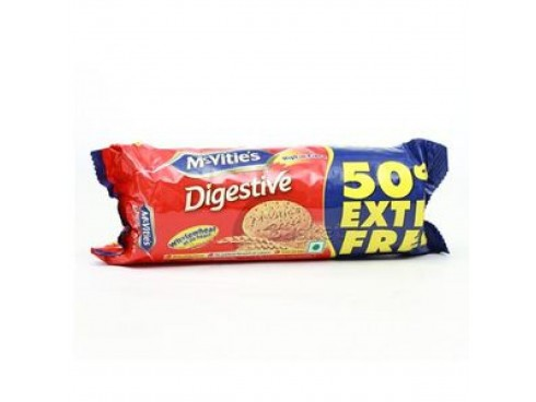 MCVITIE'S DIGESTIVE BISCUIT VALUE PACK 150GM