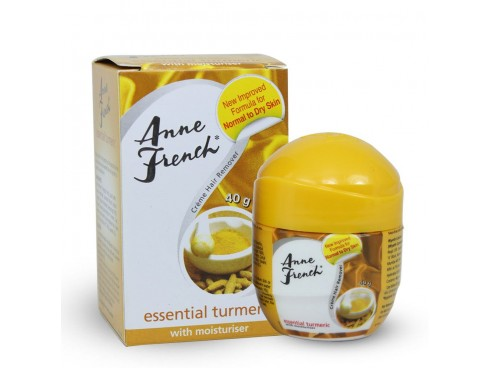 ANNE FRENCH ESSENTIAL TURMERIC HAIR REMOVER CREAM 40GM
