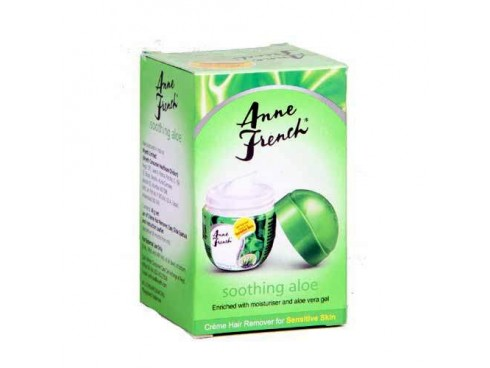 ANNE FRENCH SOOTHING ALOEVERA HAIR REMOVER CREAM 25GM