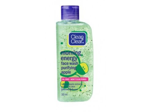 JOHNSON'S CLEAN & CLEAR MORNING ENERGY PURIFYING APPLE FACEWASH 50ML
