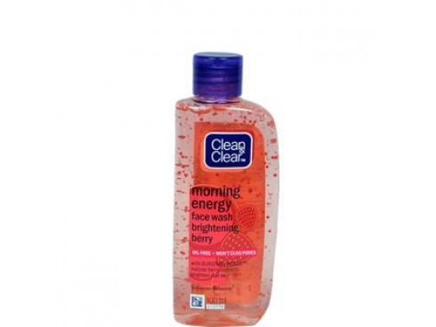 JOHNSON'S CLEAN & CLEAR MORNING ENERGY BRIGHTENING BERRY FACEWASH 50ML