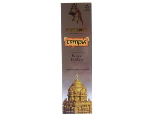 MANGALDEEP AGARBATTI FRAGRANCE OF TEMPLE SILVER 80S