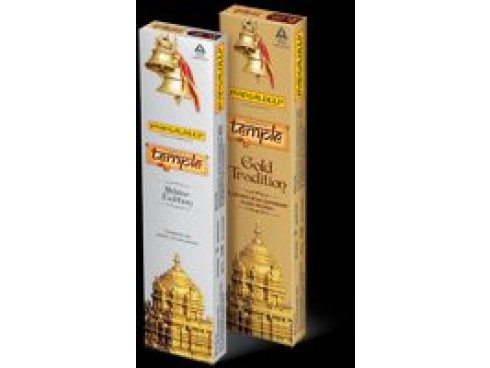MANGALDEEP AGARBATTI FRAGRANCE OF TEMPLE GOLD