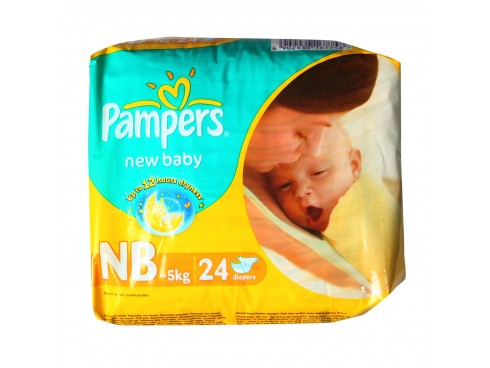 PAMPERS ACTIVE BABY NEW BABY 24'S