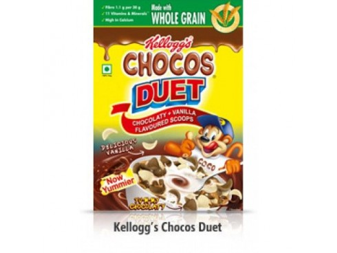 KELLOGG CHOCOS DUET K-PACK 27GM